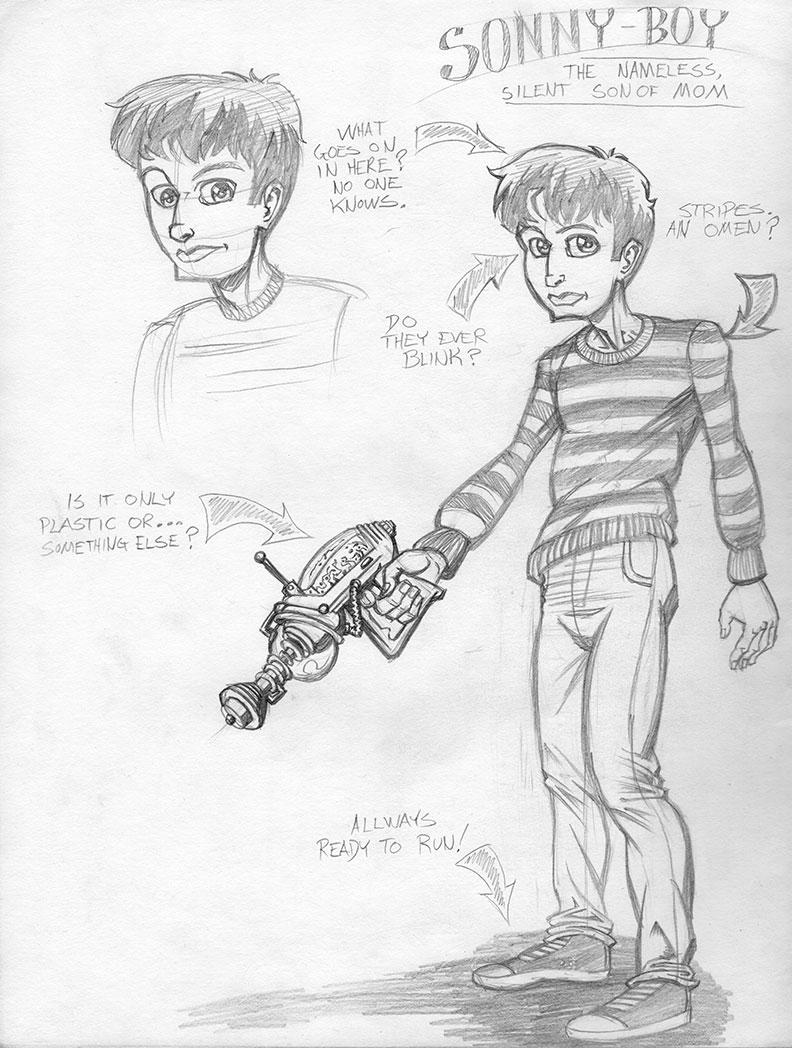 Sonny Boy – Sketch 01