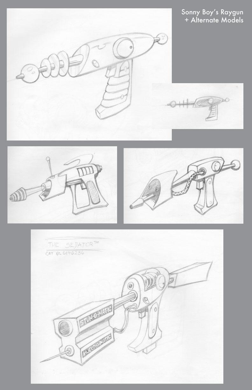 Sonny Boy's Raygun – Sketch