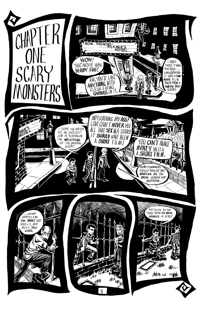 Page 005 – Chapter One – Scary Monsters