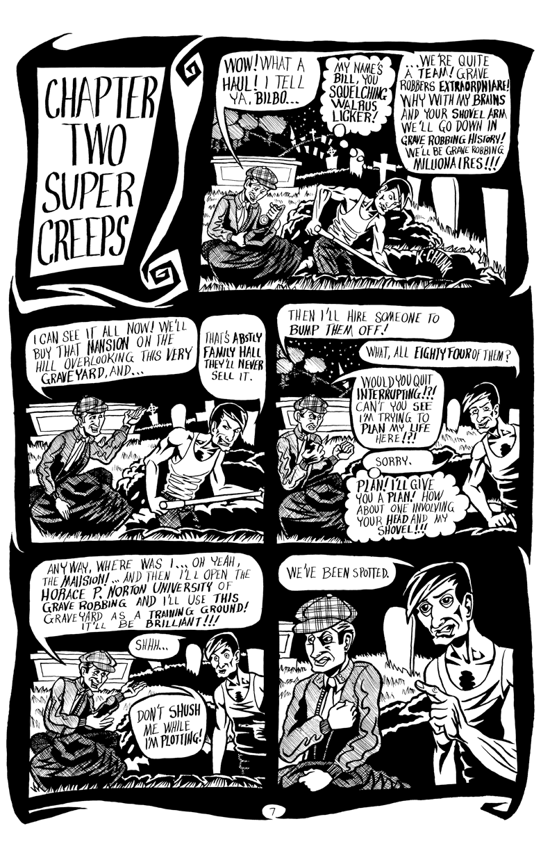 Page 007 – Chapter Two – Super Creeps
